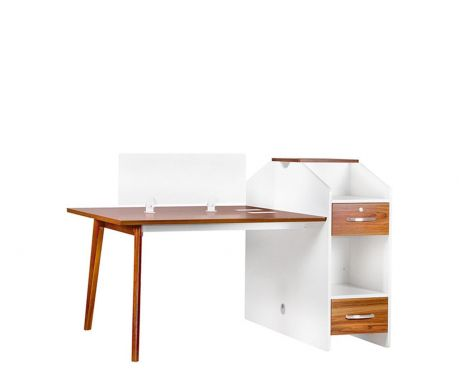Písací stôl s pracovnými miestami pre 2 osoby EVOLUTIO B305-2
