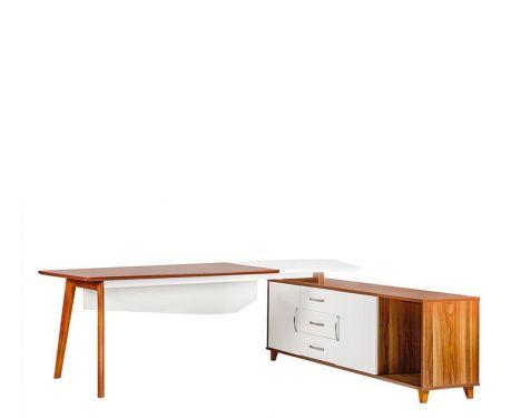Moderný písací stôl + komoda EVOLUTIO A309 240 cm