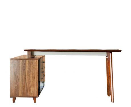 Moderný písací stôl + komoda EVOLUTIO A609 140 cm