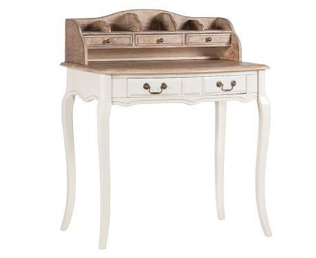Písací stôl SISLEY orech / ecru