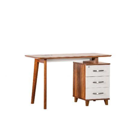Moderný písací stôl + kontajner EVOLUTIO TB-0F 120 cm