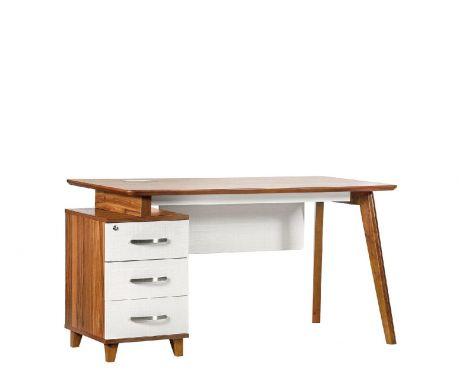 Moderný písací stôl + kontajner EVOLUTIO TB-0F 140 cm