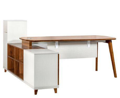 Moderný písací stôl + komoda EVOLUTIO A109 180 cm
