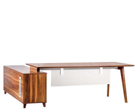 Moderný písací stôl + komoda EVOLUTIO A609 180 cm
