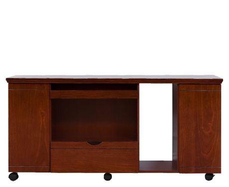 Komoda k písaciemu stolu 140 cm