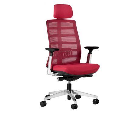 Kancelárske kreslo ECLIPTIC červené