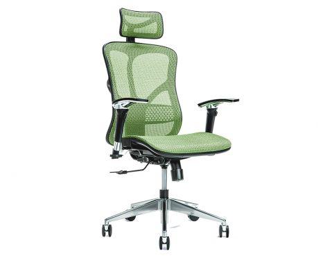 Ergonomické kancelárske kreslo ERGO 500 zelené