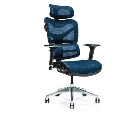 Ergonomické kancelárske kreslo ERGO 600 modré