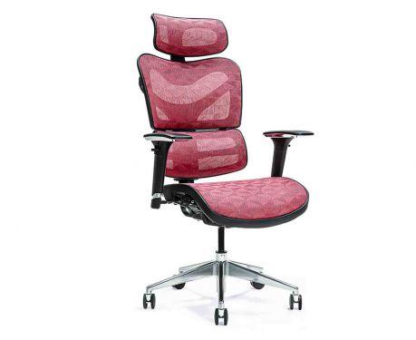 Ergonomické kancelárske kreslo ERGO 600 červené