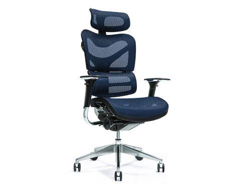 Ergonomické kancelárske kreslo ERGO 700 modré