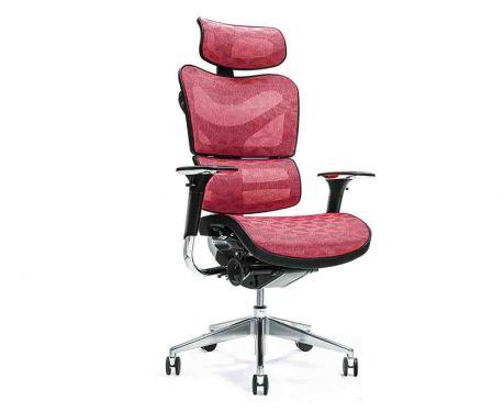 Ergonomické kancelárske kreslo ERGO 700 červené