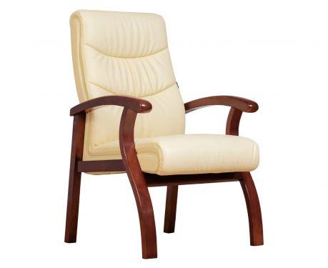 Kancelárska stolička COMFORTE krémová