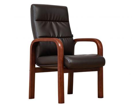 Kancelárska stolička PROGRESS hnedá