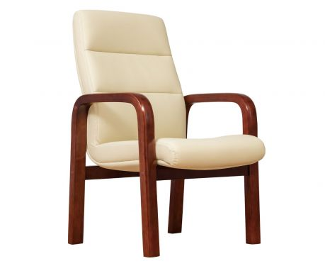 Kancelárska stolička PROGRESS kremová