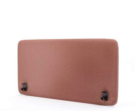 Akustický panel pre písací stôl 120x60 ružová