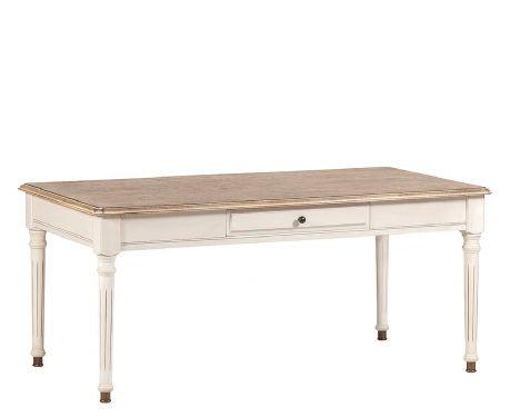 Konferenčný stolík MOREAU orech / ecru