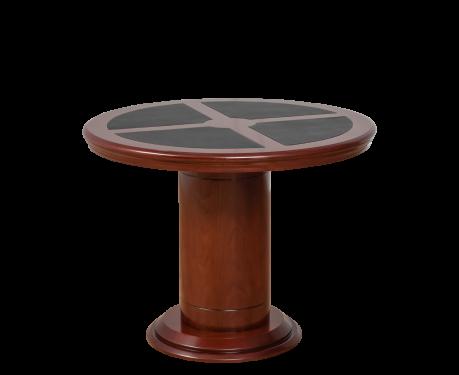 Okrúhly kancelársky stôl MERKUCJO 100 cm