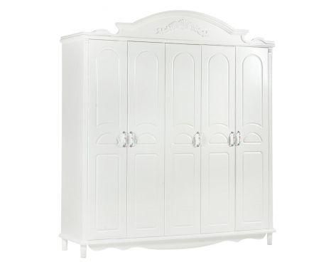 Šatník 5 dverový VICTORIA 893
