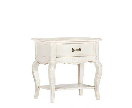 Nočný stolík SOPHIE blanc