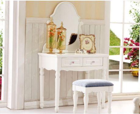 Toaletný stolík so zrkadlom VICTORIA 807