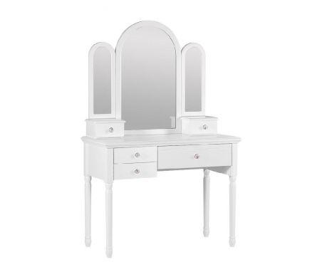 Toaletný stolík so zrkadlom VICTORIA 808