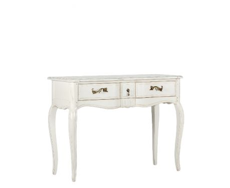 Toaletný stolík CLAIRE blanc