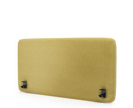 Akustický panel pre písací stôl 120x60 žltá
