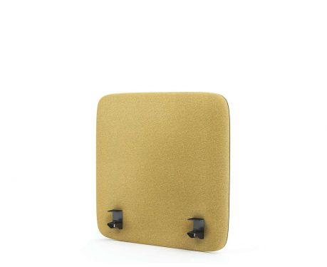 Akustický panel pre písací stôl 60x60 žltá